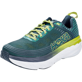 Hoka One One Bondi 6 Running Shoes Herre deep teal/green oasis